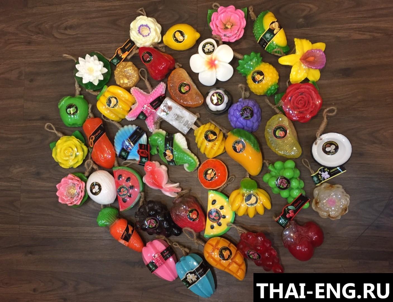 Экспорт фруктового мыла из Таиланда