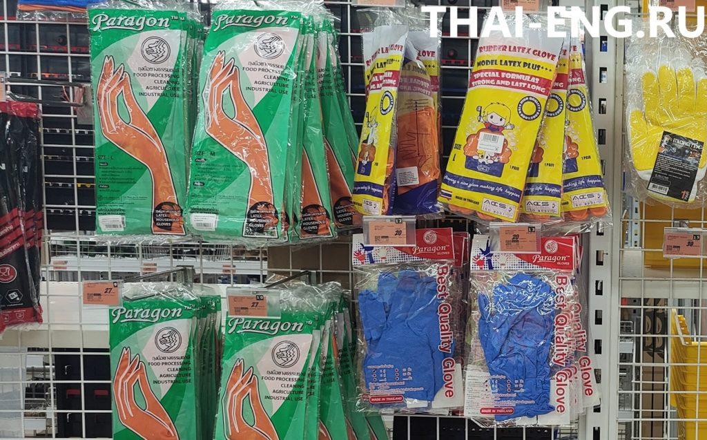 Нитриловые перчатки в Таиланде
